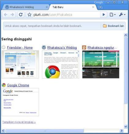 skrinsut Google Chrome biar gak basbang