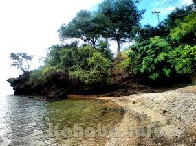 Pantai oi Fanda Ambalawi, tempat yang tepat untuk rekreasi bawah air