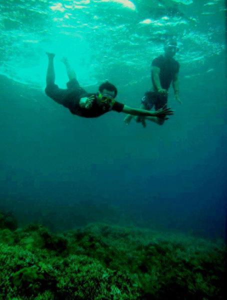 Snorkeling di Oi Fanda
