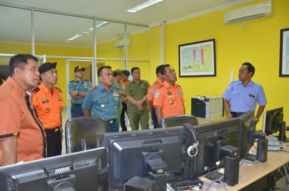 Radar pantai LPTK ketika menerima kunjungan Kepala Basarnas