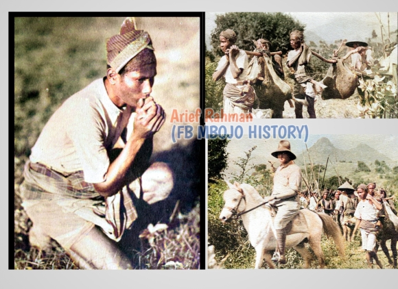 Proses perburuan rusa tradisional di Bima NTB